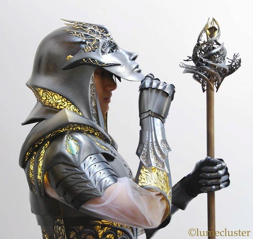 3d printed fantasy armor cosplay melissa ng 18 - Fantasia de armadura feito em 3D é o sonho de todo cosplay