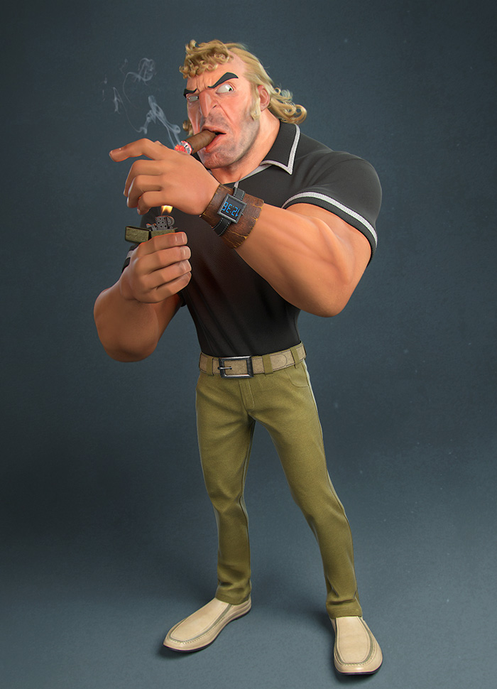10 Realistic Cartoon Characters You Would Run Away From