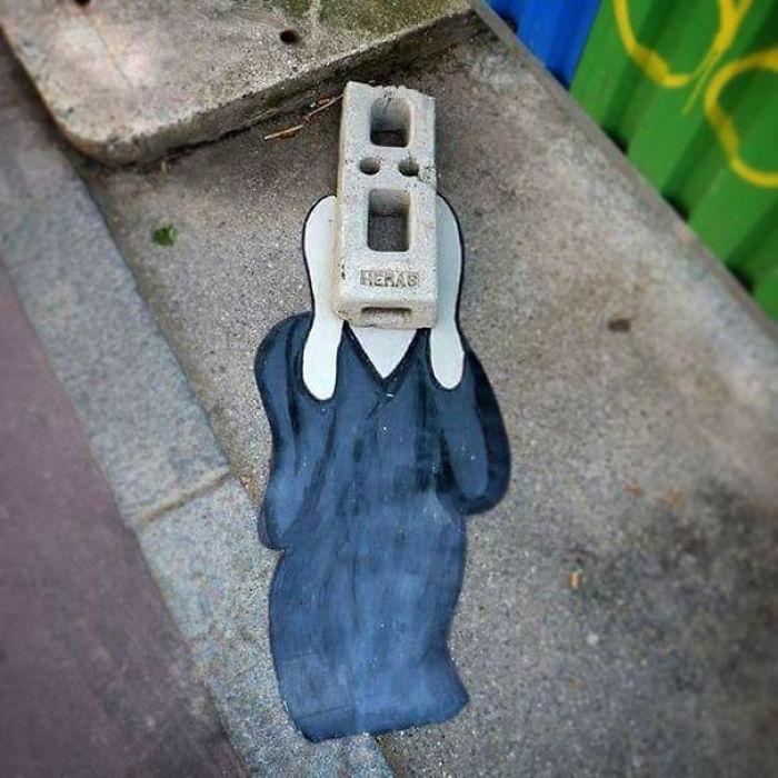 5978805a49397 creative street art positive vandalism 21 59704d7eb818e  700 - Coisas hilárias captadas em fotos