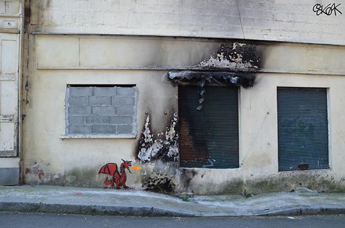 5978805b9327b creative street art positive vandalism 42 59758f8d5ce99  700 - Coisas hilárias captadas em fotos
