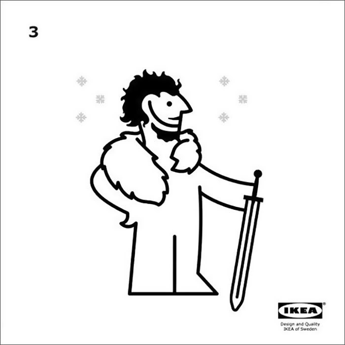IKEA Releases Instructions How To Make Your Own 'GoT' Cape