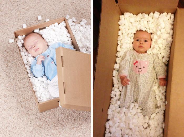 59e0b27ddc198 baby photoshoot expectations vs reality pinterest fails 25 577f97a039489  700 - Tirar foto de bebê não é nenhum pouco fácil