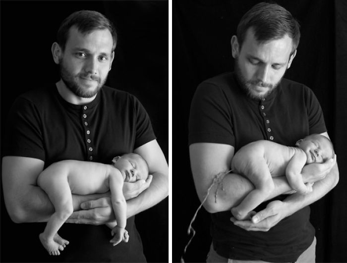 59e0b27f1eedf baby photoshoot expectations vs reality pinterest fails 32 577fb3d4e301c  700 - Tirar foto de bebê não é nenhum pouco fácil