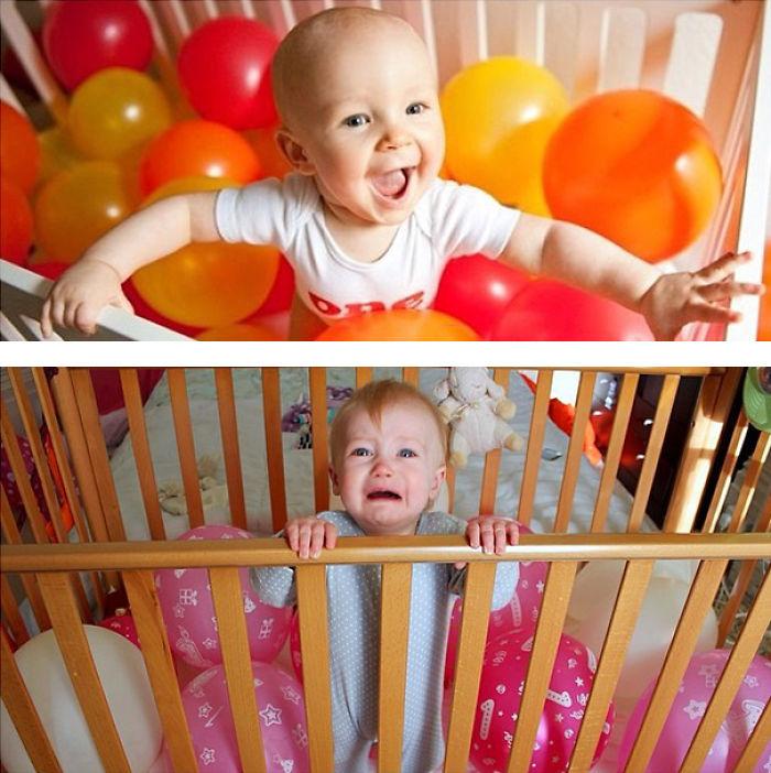 59e0b280b9e53 baby photoshoot expectations vs reality pinterest fails 20 577f7810affa0  700 - Tirar foto de bebê não é nenhum pouco fácil