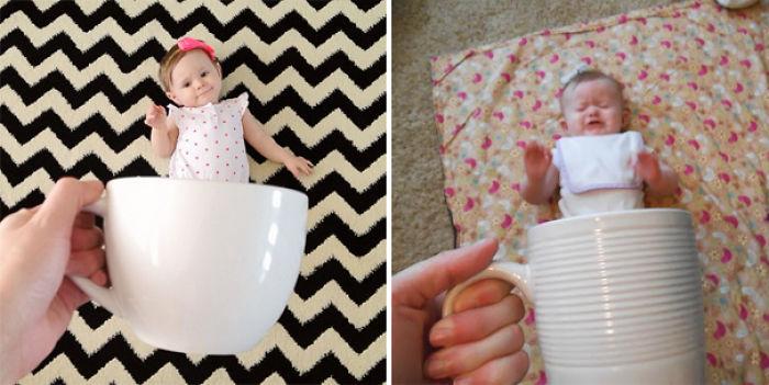59e0b28c58fd5 baby photoshoot expectations vs reality pinterest fails 19 577f77a39414b  700 - Tirar foto de bebê não é nenhum pouco fácil