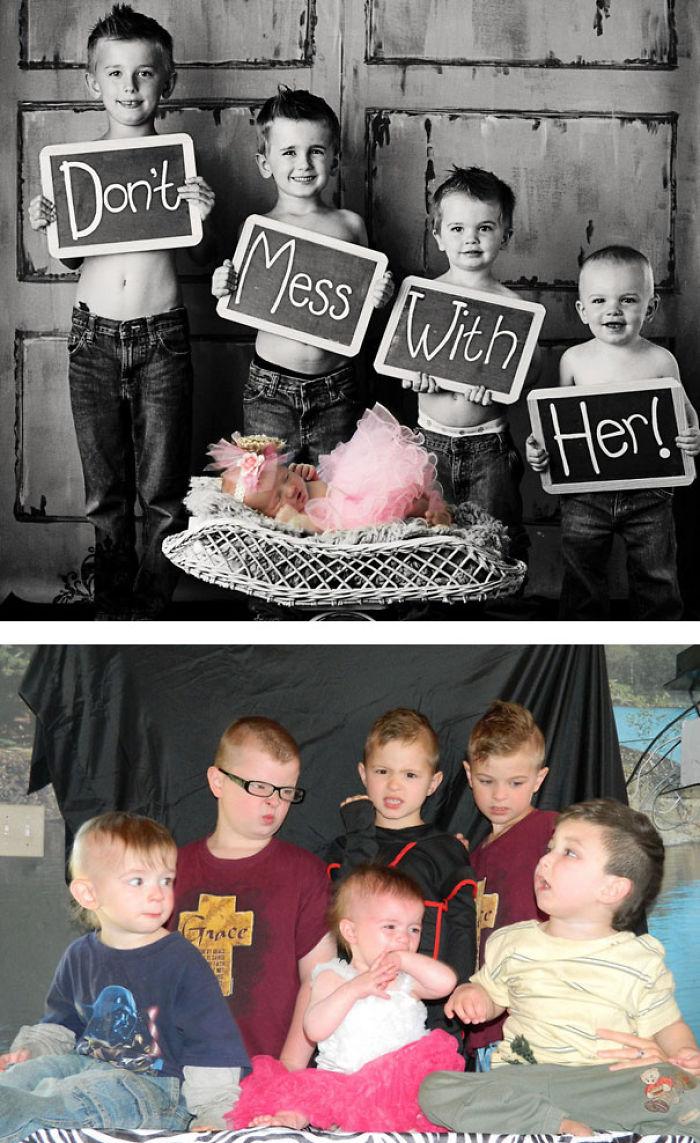 59e0b28e0c5b0 baby photoshoot expectations vs reality pinterest fails 2 577f637891461  700 - Tirar foto de bebê não é nenhum pouco fácil