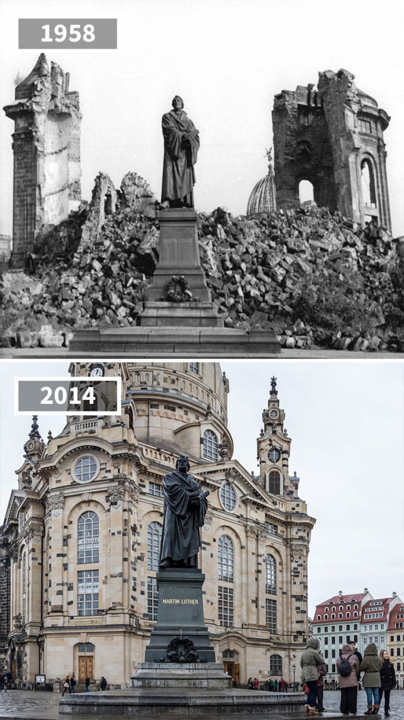5a0eab52791a3 then and now pictures changing world rephotos 22 5a0d82b38e8d1  700 - A transformação das cidades ao longo do tempo