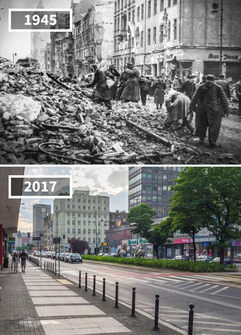 5a0eab5525cef then and now pictures changing world rephotos 50 5a0d6f924b774  700 - A transformação das cidades ao longo do tempo
