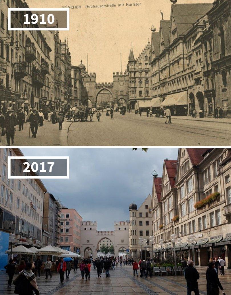 5a0eab5826aa0 then and now pictures changing world rephotos 110 5a0d7e0a2dcf5  700 - A transformação das cidades ao longo do tempo