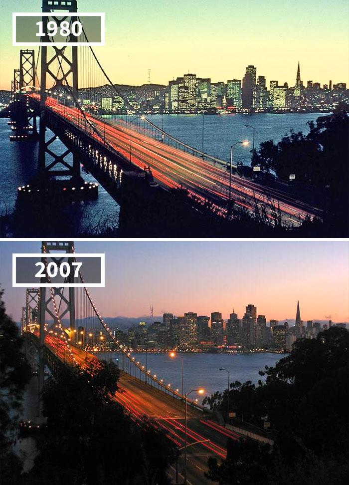 5a0eab6177e9b then and now pictures changing world rephotos 4 5a0d64be81d67  700 - A transformação das cidades ao longo do tempo