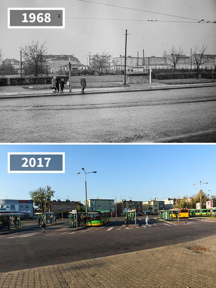 5a0eab640f095 then and now pictures changing world rephotos 21 5a0d821aa1eb9  700 - A transformação das cidades ao longo do tempo