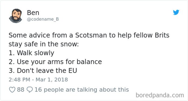 5a9d483b7cfff-969222763213918208-png__700 Internet Reacts To Brits Panicking Over A Little Snow In A Very Creative Way Random