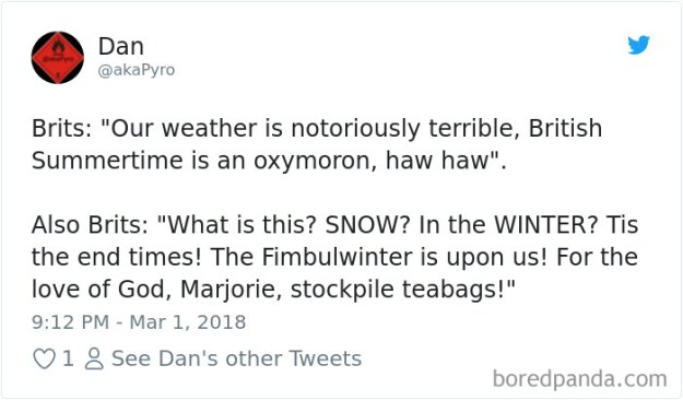5a9d483cb360b-969319430751772672-png__700 Internet Reacts To Brits Panicking Over A Little Snow In A Very Creative Way Random