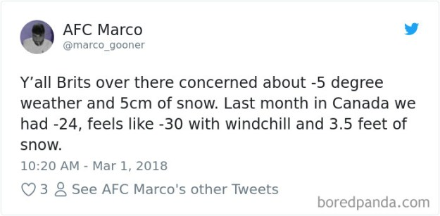 5a9d4840a6acf-969155427106807809-png__700 Internet Reacts To Brits Panicking Over A Little Snow In A Very Creative Way Random