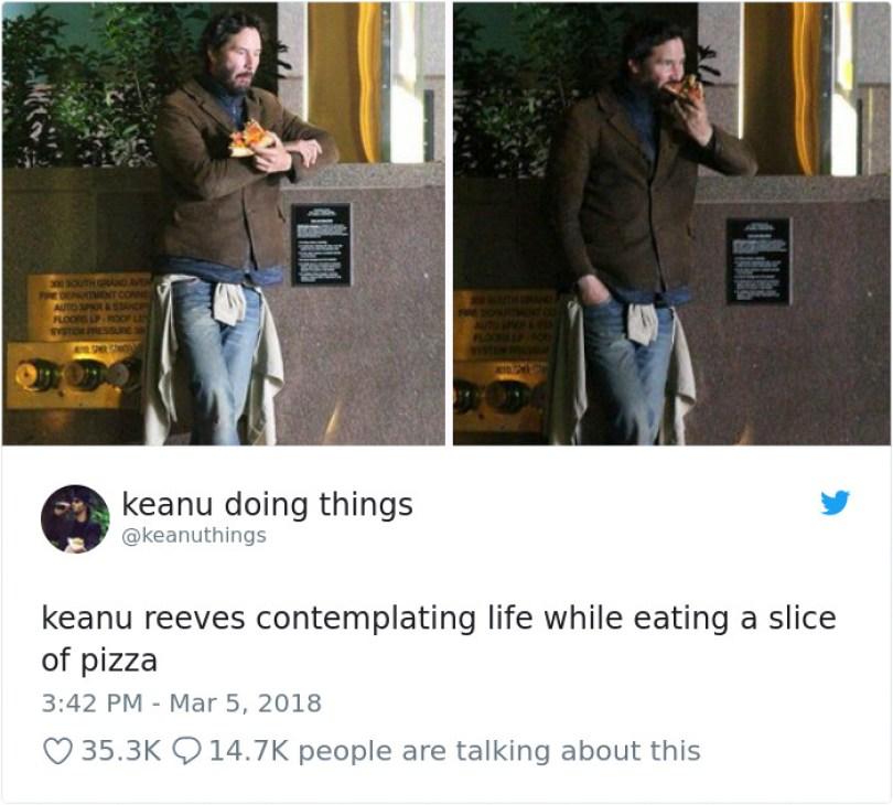 5abe1c08c3aba 970686042423611392 png  700 5abc9c7e544c8  700 - Por que Keanu Reeves tímido e introvertido é tão popular na Internet?