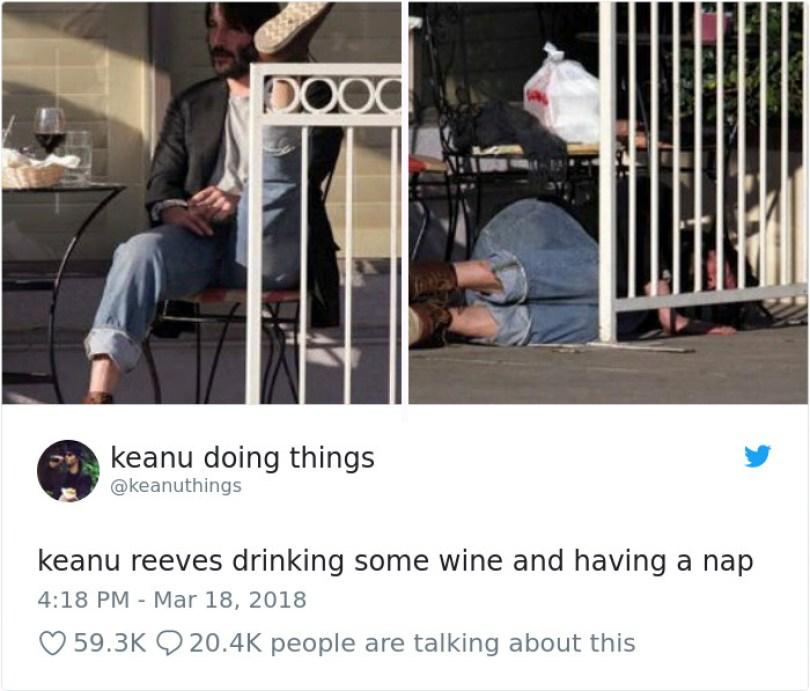 5abe1c0908f75 975406151721418754 png  700 5abc9e4946a31  700 - Por que Keanu Reeves tímido e introvertido é tão popular na Internet?
