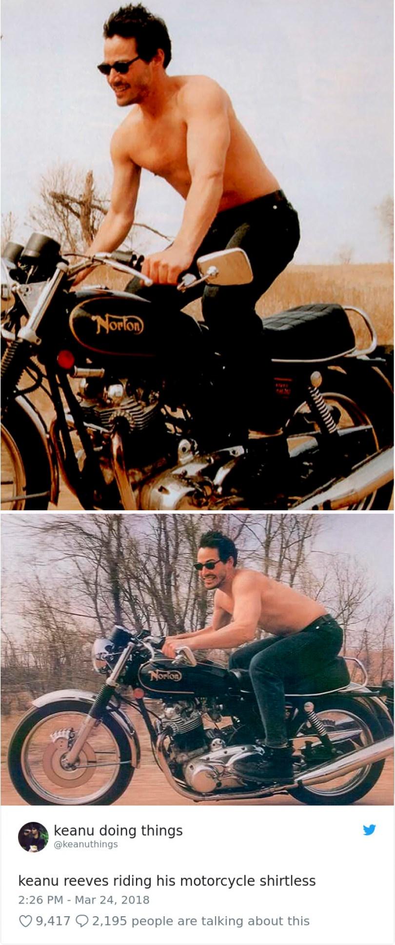 5abe1c0bd6102 977552166960488449 1 png  700 5abc9558b9490  700 - Por que Keanu Reeves tímido e introvertido é tão popular na Internet?