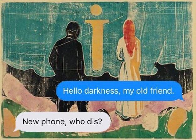 5ad9cf5e597c6-classical-art-dark-humor-april-eileen-henry-texts-from-your-existentialist117-5ad6f2830c023__700 The Darkest Instagram Account Will Satisfy Your Inner Pessimist Random