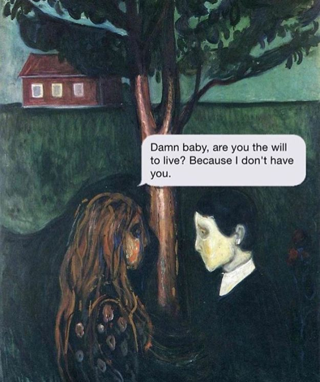5ad9cf65626d2-classical-art-dark-humor-april-eileen-henry-texts-from-your-existentialist125-5ad6f2934a868__700 The Darkest Instagram Account Will Satisfy Your Inner Pessimist Random