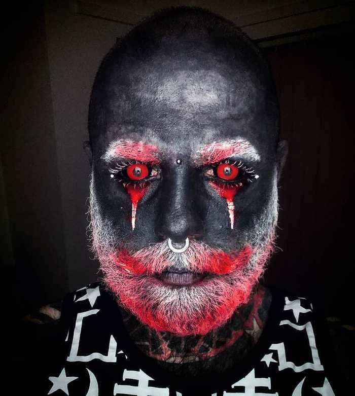 tattoo-full-body-polish-adam-curlykale-2-2 Polish Man Tattoos 90% Of His Body In Gray, Ends Up Looking Like A White Walker Random tattoo