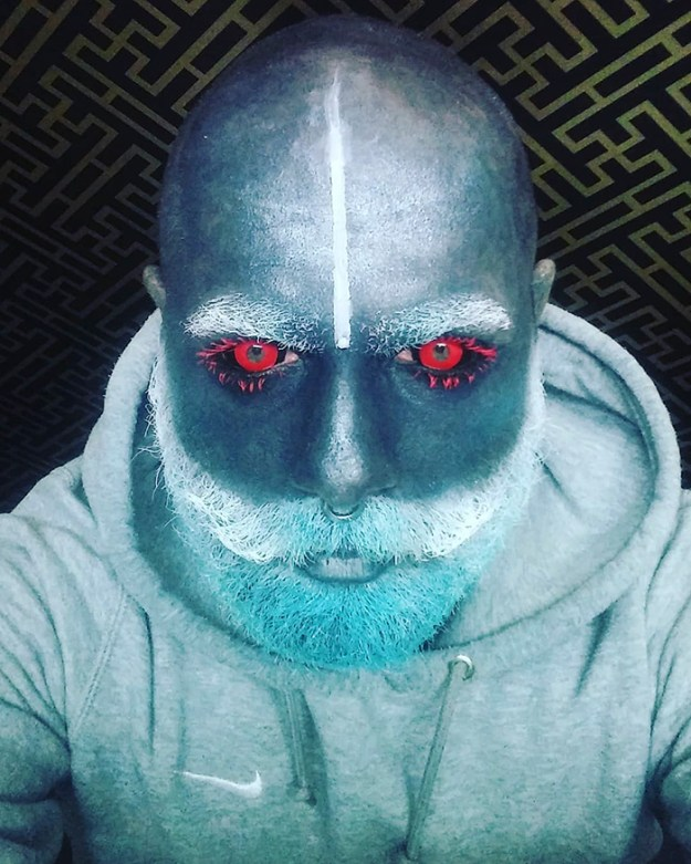 tattoo-full-body-polish-adam-curlykale-21-1 Polish Man Tattoos 90% Of His Body In Gray, Ends Up Looking Like A White Walker Random tattoo