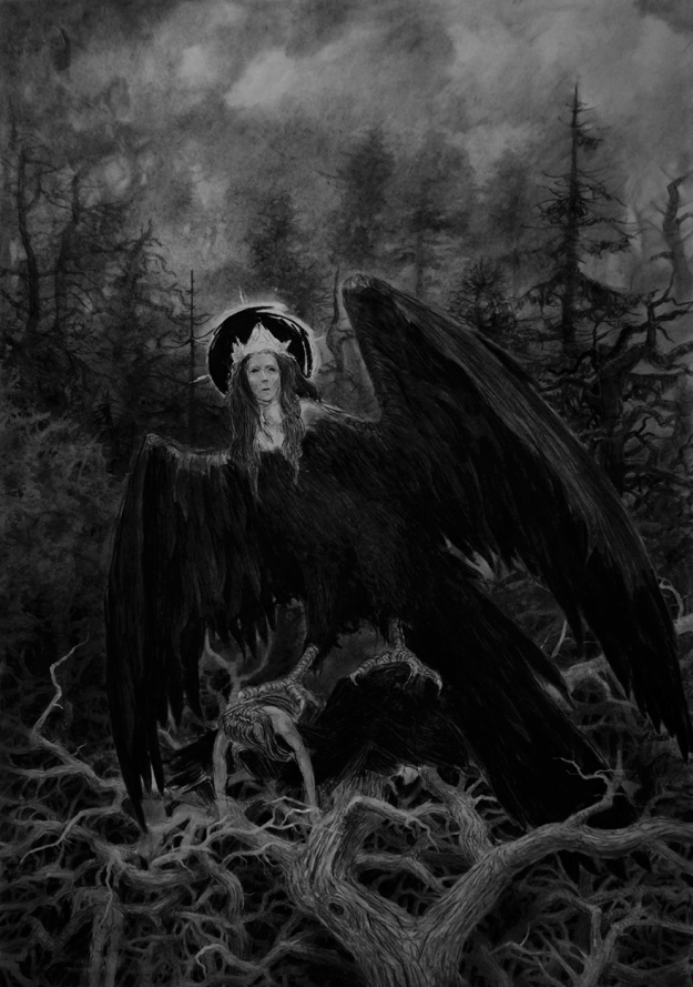 creepy-illustrations-russian-artist-vergvoktre-53 A Place Below Hell: Haunting Illustrations That Will Give You Nightmares Art Random