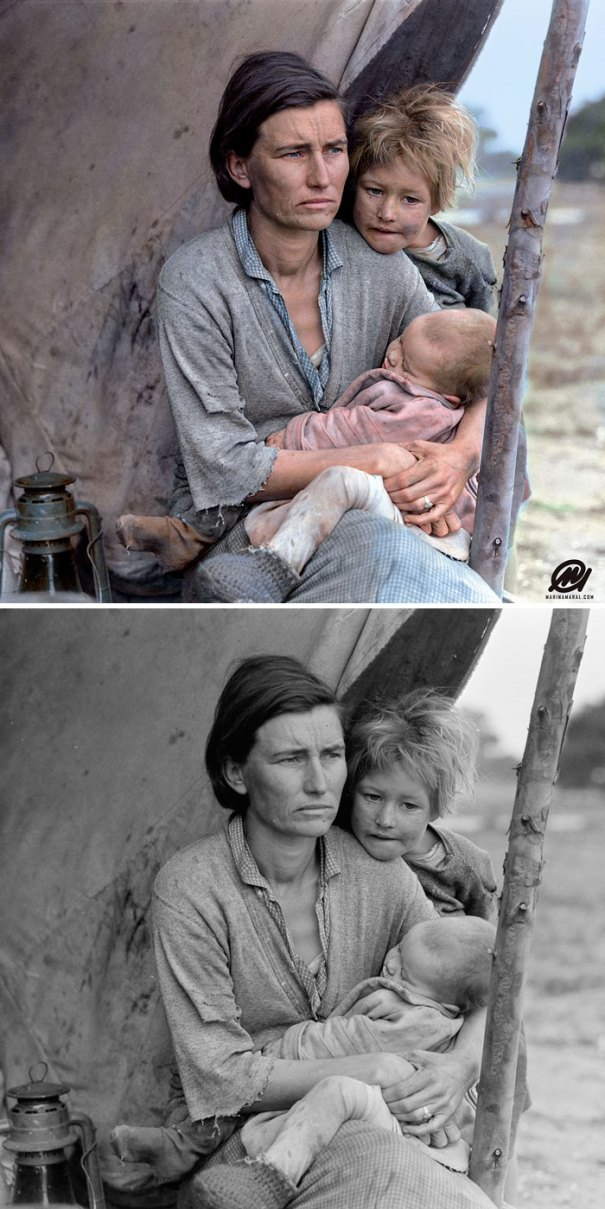 5b6d3b6ba5a2e-colorized-historic-photos-marina-amaral-28-5b6aceceaba9b__700 This Artist Colorizes Old Black & White Photos, And They Will Change The Way People Imagine History Photography Random