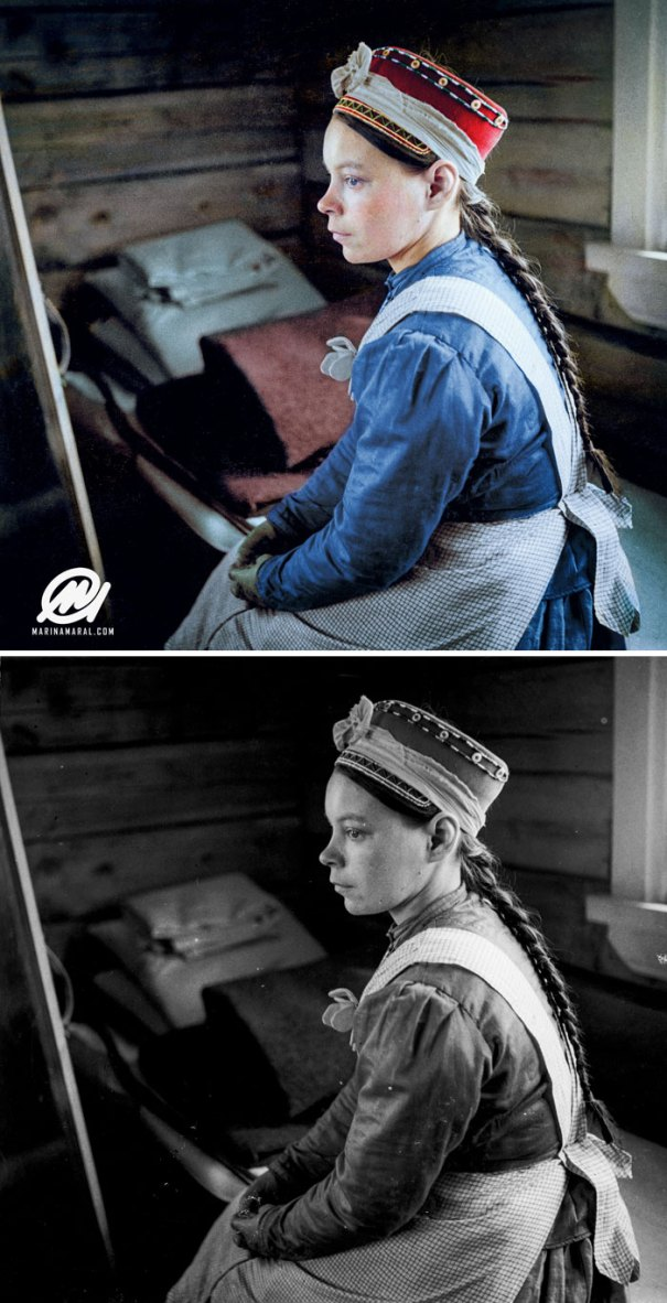 5b6d3b6de0855-colorized-historic-photos-marina-amaral-17-5b6acf27584a3__700 This Artist Colorizes Old Black & White Photos, And They Will Change The Way People Imagine History Photography Random