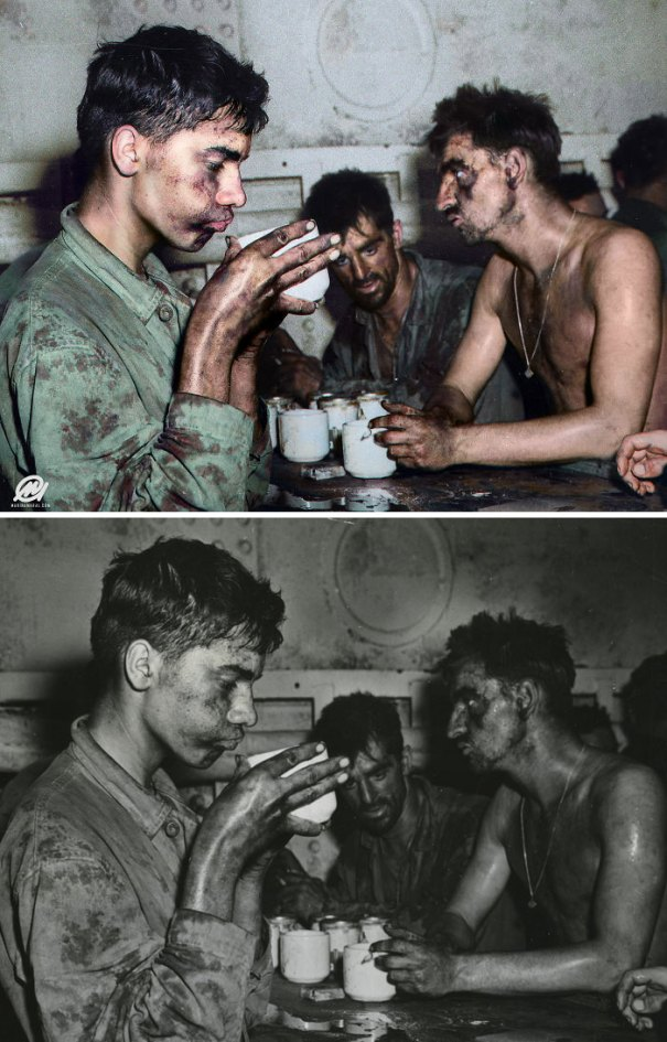 5b6d3b7b1c8ad-colorized-historic-photos-marina-amaral-56-5b6bdafc28136__700 This Artist Colorizes Old Black & White Photos, And They Will Change The Way People Imagine History Photography Random