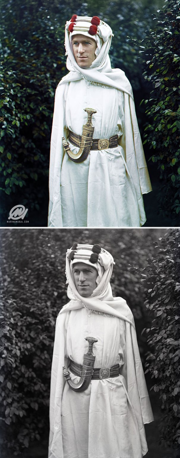 5b6d3b7dbaab8-colorized-historic-photos-marina-amaral-3-5b6ad6241a016__700 This Artist Colorizes Old Black & White Photos, And They Will Change The Way People Imagine History Photography Random