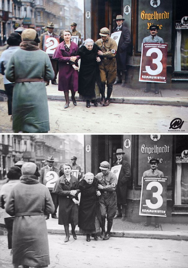 5b6d3b81de4ee-colorized-historic-photos-marina-amaral-20-5b6b0333958a2__700 This Artist Colorizes Old Black & White Photos, And They Will Change The Way People Imagine History Photography Random