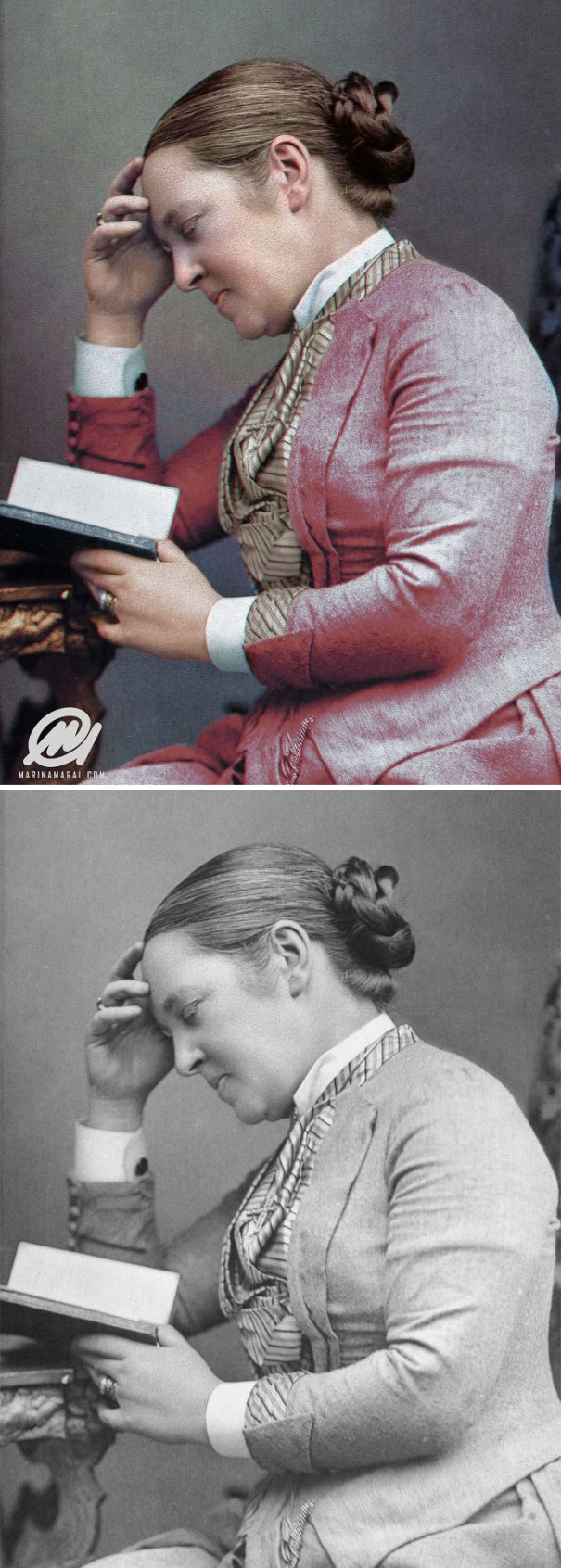 5b6d3b825eaea-colorized-historic-photos-marina-amaral-46-5b6add3d9dd47__700 This Artist Colorizes Old Black & White Photos, And They Will Change The Way People Imagine History Photography Random