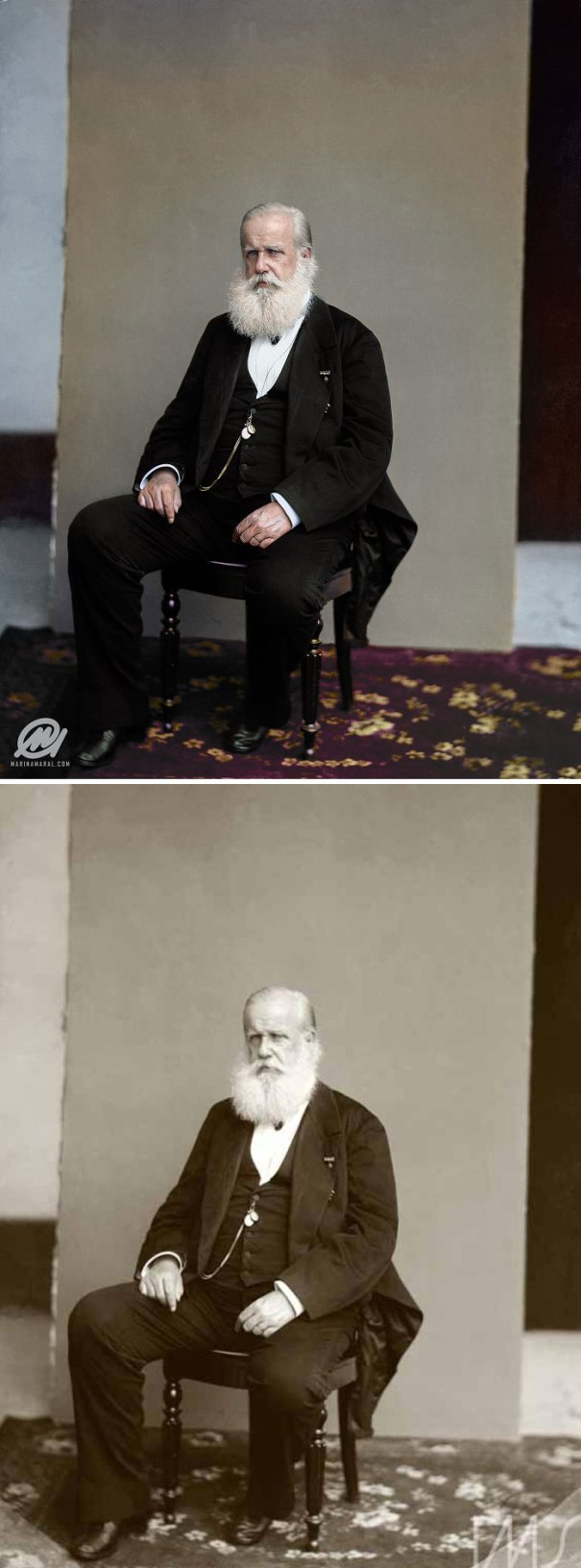 5b6d3b8b3d10d-colorized-historic-photos-marina-amaral-55-5b6bda3457531__700 This Artist Colorizes Old Black & White Photos, And They Will Change The Way People Imagine History Photography Random