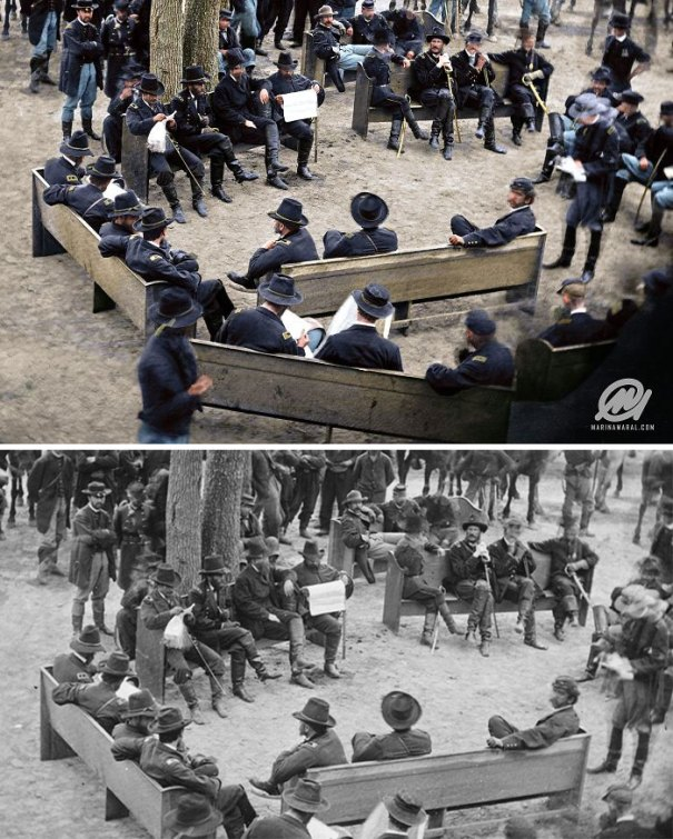 5b6d3b8d21099-colorized-historic-photos-marina-amaral-73-5b6c0932e3266__700 This Artist Colorizes Old Black & White Photos, And They Will Change The Way People Imagine History Photography Random