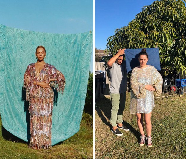 5b865061401e1-Woman-continues-to-amuse-people-by-imitating-celebribidades-and-we-do-not-tire-of-seeing-5b83c50e6b3bc__700 Woman Continues To Recreate Celebrity Instagram Pics, And The Result Is Better Than The Original (New Pics) Random