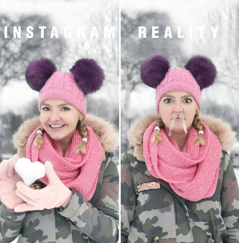 5b976d988beda German shows the reality of perfect instagram photos and the result is a lot of fun 5b8e33f219f8a 880 - Instagram: Expectativa x Realidade