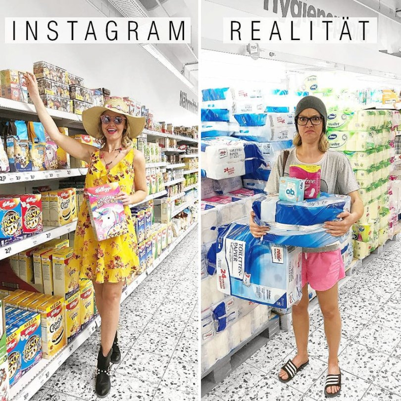 5b976d9ac53e4 German shows the reality of perfect instagram photos and the result is a lot of fun 5b8e33fc5d17e  880 - Instagram: Expectativa x Realidade # Parte 2