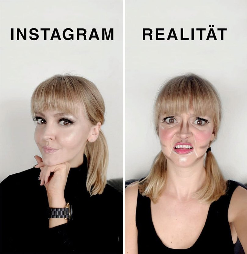 5b976d9c211fd German shows the reality of perfect instagram photos and the result is a lot of fun 5b8e3408efe13  880 - Instagram: Expectativa x Realidade # Parte 2