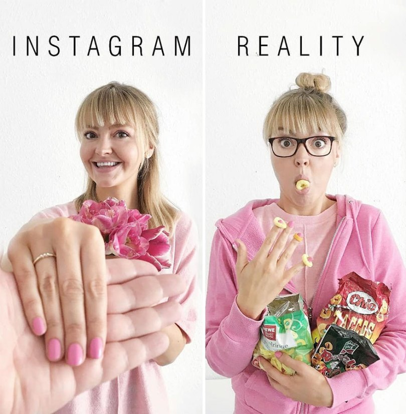5b976d9c57d41 German shows the reality of perfect instagram photos and the result is a lot of fun 5b8e33d225735  880 - Instagram: Expectativa x Realidade # Parte 2