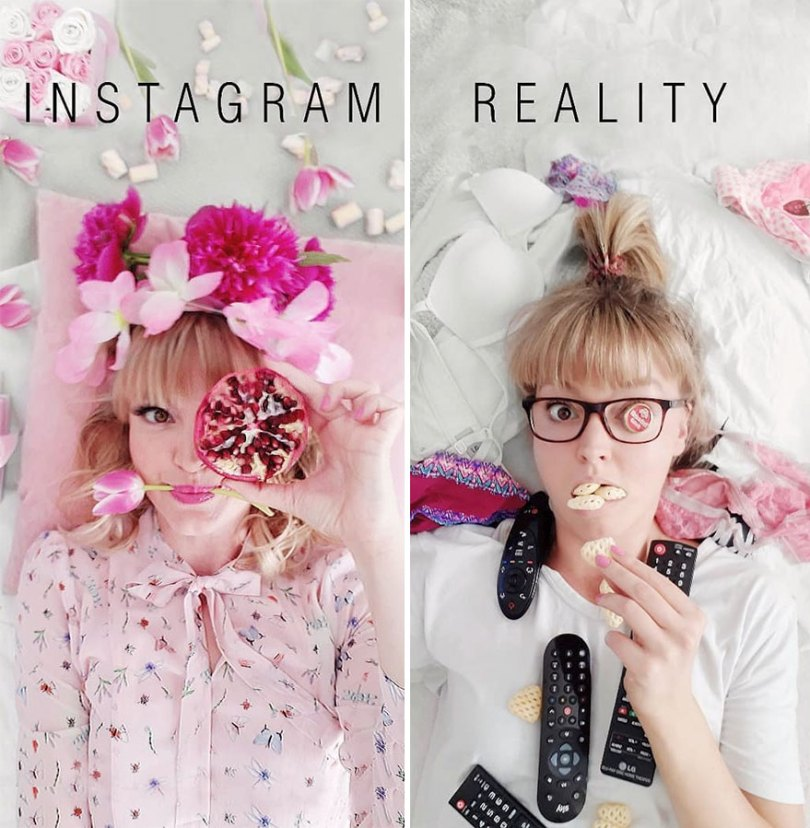 5b976d9e7986a German shows the reality of perfect instagram photos and the result is a lot of fun 5b8e33d824e8e  880 - Instagram: Expectativa x Realidade # Parte 2