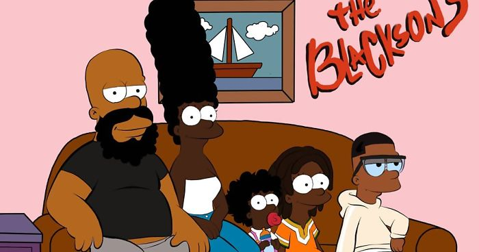 This Artist Reimagined 10 Cartoon Characters As Black And
