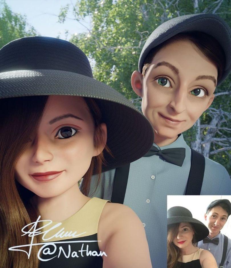 5bd1c521c7b34 43985203 578017515949901 614711571312715263 n 5bcfbb5bba8fb  880 - Você gostaria de se tornar um personagem da Pixar? (Parte 2)
