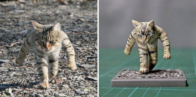 5bd9c2075d3ca-A1 This Artist Creates Hilarious Animal Sculptures From Awkward Photos Random