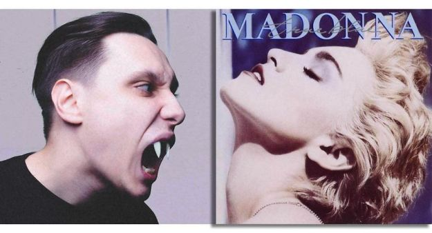 5be2e5d3c53bb-Madonna-True-Blue-5bdaaf6d7e4c7__880 Russian Artist Shows What's Going On Outside The Frames Of Well-Known Album Covers (New Pics) Random