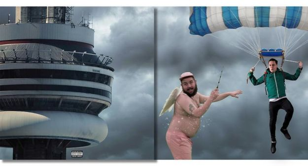 5be2e5d9ef2f0-Drake-Views-5bdaaead9d8ca__880 Russian Artist Shows What's Going On Outside The Frames Of Well-Known Album Covers (New Pics) Random