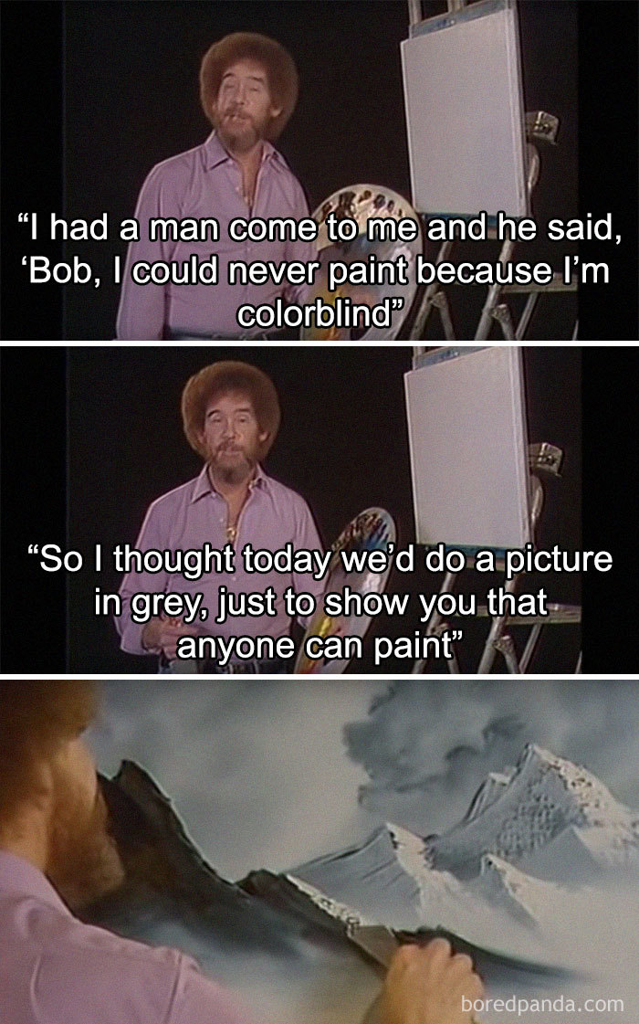 Wholesome Quote Wallpaper 25 Bob Ross Memes That Show He Truly Was The Best Demilked