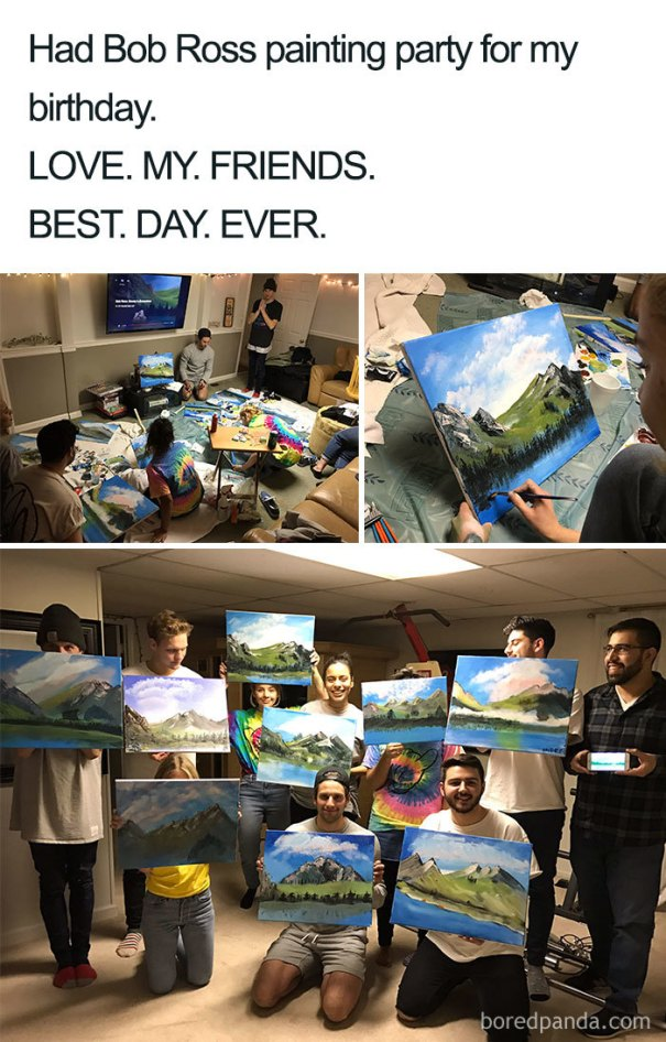 5be3fb3a8bbdf-meme_4_lines_700-5be2d588cb0bf__700 25+ Bob Ross Memes That Show He Truly Was The Best Art Random
