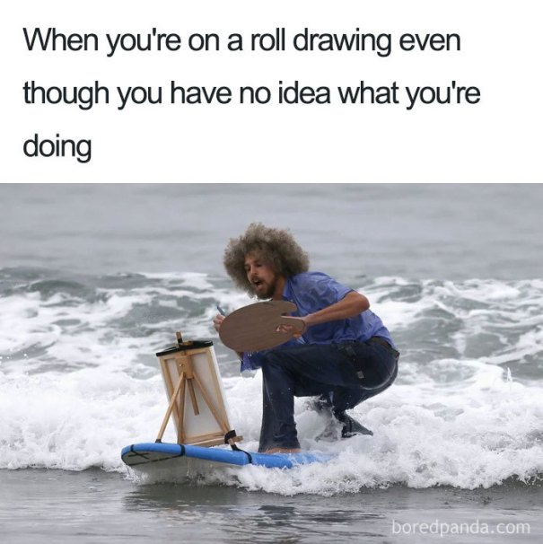 5be3fb4641aa3-funny-bob-ross-memes-48-5be2c04dd8c1f__700 25+ Bob Ross Memes That Show He Truly Was The Best Art Random