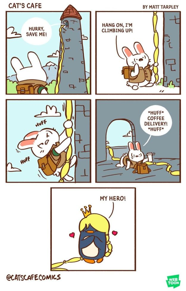 5bf6705e8b9f9-A-Cats-Caf-for-Everyone-5bf3de774982c__880 47 Wholesome 'Cat's Cafe' Comics That Will Brighten Your Day Random
