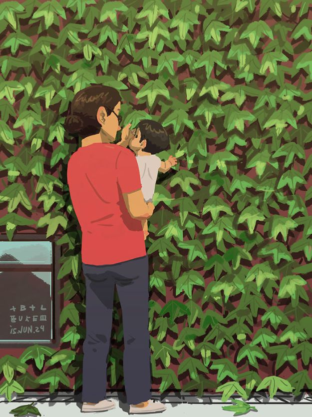 5bfbc254c34b9-father-son-love-comics-blue-18-5bb70c43a9fdb__700 38 Heartwarming Illustrations Showing What It's Like To Raise A Child As A Single Dad Random